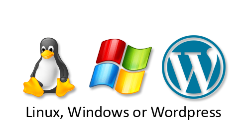 Choice of Linux, Windows or Wordpress Hosting