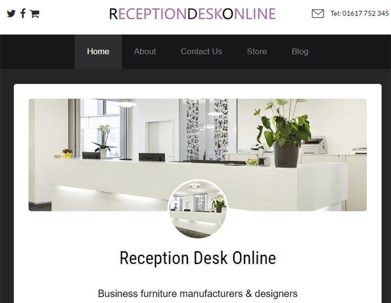 Reception Desks Online